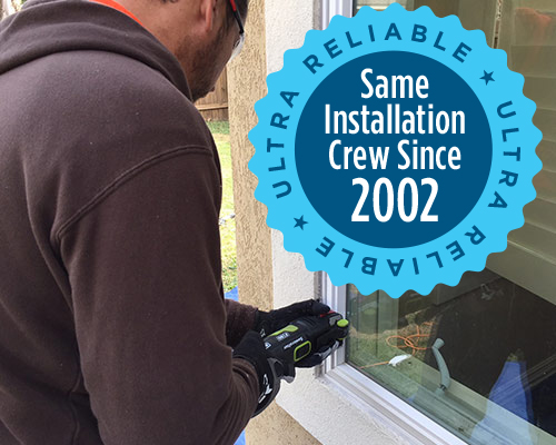 Reliable Installation - Ultra Windows - Replacement Windows in Houston, Katy, Tomball, Kingwood, The Woodlands